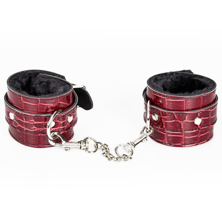 Bondara Yin and Yang Croc Effect Handcuffs