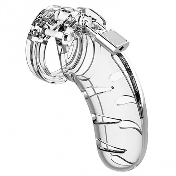 Man Cage Model 3 Clear Lightweight Chastity Cage