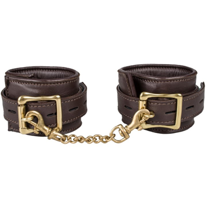Bondara Luxe Dressage Dreams Soft Leather Handcuffs