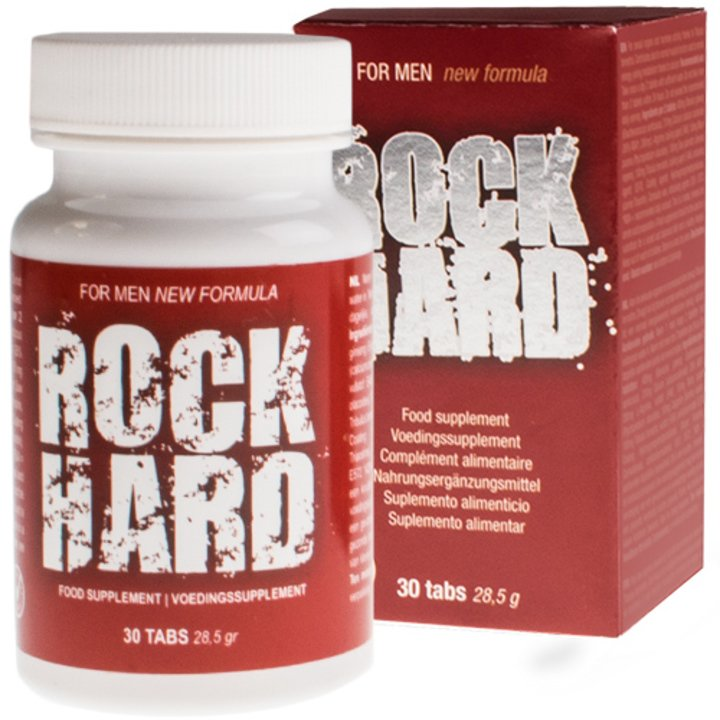 Rock Hard Penis Pills - 30 Pack