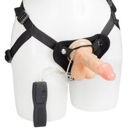 Bondara 3 Function Remote Vibrating Strap On - 6.5 Inch