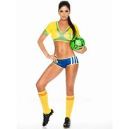 Brazilian Babe Football Strip