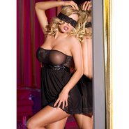 Bondara Strapless and Sensational Babydoll Set