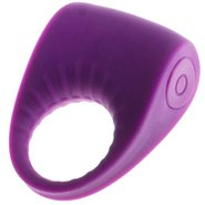 Violet Temptations Silicone Rechargeable Waterproof Cock Ring