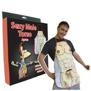 Macho Male 3D Willy Apron