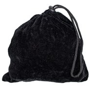 Bondara Small Velvet Storage Bag