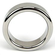 Bound to Please Stainless Steel Cock Ring – Small