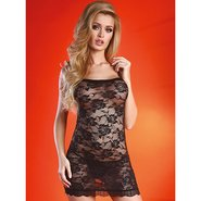 Livia Corsetti Jenay Black Lace Dress and G-String