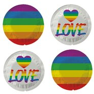EXS Rainbow Love Pride Condoms – 4 Pack