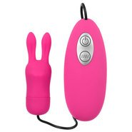 7 Speed Thumper Rabbit Silicone Remote Clit Stim
