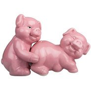 Naughty Pig Salt and Pepper Pots