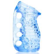 Fleshlight FleshSkins Blue Ice Easy-Grip Masturbator – 5.35 Inch