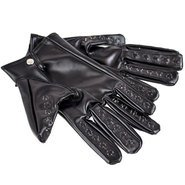 Faux Leather Vampire Gloves S/M/L