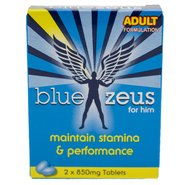 Blue Zeus Sexual Performance Pills – 2 Pack