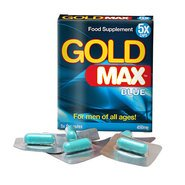 Gold Max Blue Male Performance Pills – 5 Pack