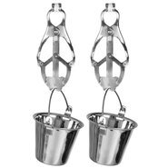 Bondara Stainless Steel Bucket Clover Nipple Clamps