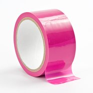 Ouch! Bright Pink Bondage Tape