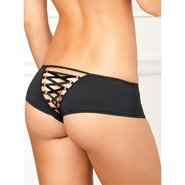 Rene Rofe Corset Back Crotchless Knickers