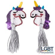 Unicorn Sequin Nipple Tassels
