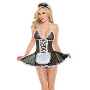 Coquette French Maid Babydoll