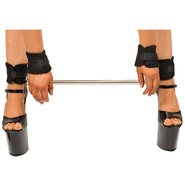 Bondara Spreader Bar With Soft Velcro Wrist and Ankle Cuffs