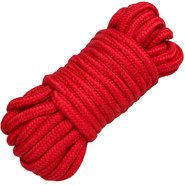 Bondara Red Cotton Bondage Rope - 10m