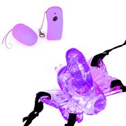 Remote 10-Speed Butterfly Vibrator