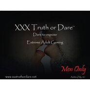 Truth Or Dare Adult Board Game - Men Only