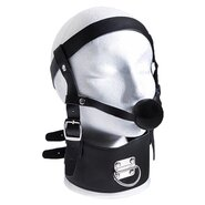Ultimate Ball Gag Harness and Posture Collar
