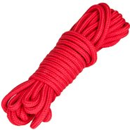Bondara Sexy Soft Red Bondage Rope 10m