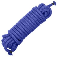 Stylish Soft Blue Bondage Rope 10m
