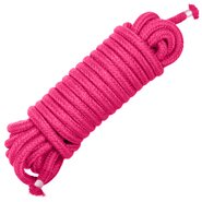 Pink Soft Cotton Bondage Rope 10m