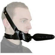 Chin Butt Plug - Head Strap On
