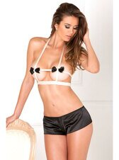 Rene Rofe Satin Bow Set