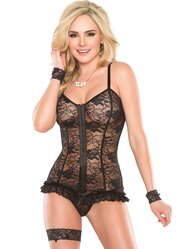 Coquette Lace and Frills Corset