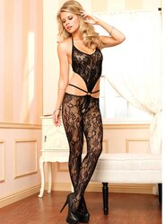 Leg Avenue Floral Lace Bodystocking