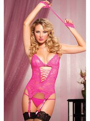 Seven Til Midnight Midnight Affair Pink Lace Cami