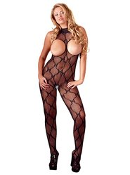 Mandy Mystery Plus Size Halterneck Cupless Crotchless Bodystocking