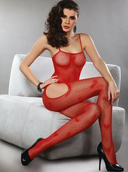 Livia Corsetti Titania Red Heart Bodystocking