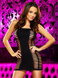 Lap Dance Naughty Girl Mini Dress