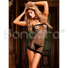 Baci Fence Net Tube Dress