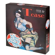Tie and Tease Couples Board Game