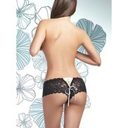 Bondara Flirt Lace Up Boyshorts