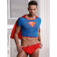 Bondara Sexy Super hero Two Piece Costume Set