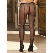 Dreamgirl Plus Size Barcelona Fishnet Tights