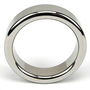 Bound to Please Stainless Steel Cock Ring – Small, Medium or Large