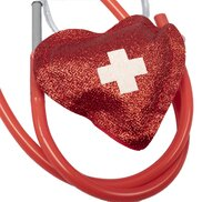 Naughty Nurse Heart Shaped Stethoscope