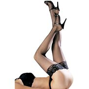 Bondara Flirt Lace Top Stockings