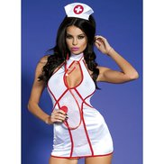 Bondara Bedside Nurse Costume With Stethoscope