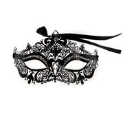 Diamante Masquerade Metal Mask